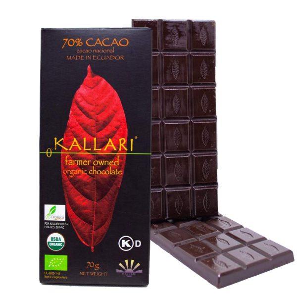 Organic-Schokolade-70-Cacao-(Kallari)