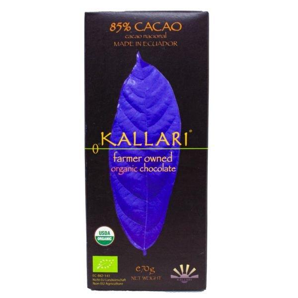 Organic-chocolate-85-Cacao-(Kallari)