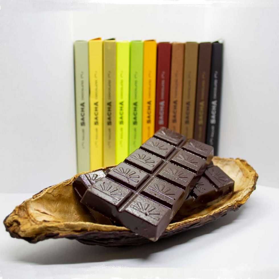 "Chakra"" à 9 Tafeln Schokoladen"