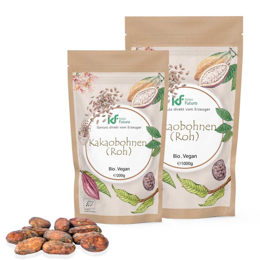 Bio-Kakaobohnen