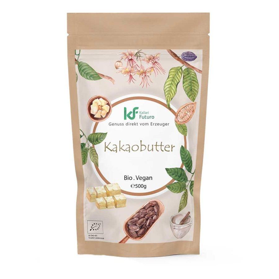 Bio-Kakaobutter-500g